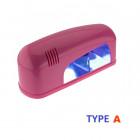 Lampă UV roz 1 bec, 9W