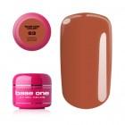Gel UV Base One Color - Carmel Brown 63, 5g