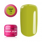 Gel UV Base One Color - Dark Lime 78, 5g