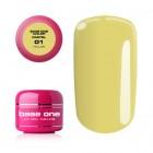 Gel UV Base One Pastel - Yellow 01, 5g