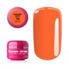 Gel UV Base One Neon - Medium Orange 10, 5g