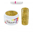 Gel UV colorat 5g – Gold Glitter