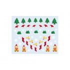 Stickere nail art cu model de Crăciun - 035