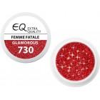 Extra Quality GLAMOURUS gel UV color - FEMME FATALE 730, 5g