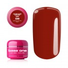 Gel Base One Color RED - Sweetheart Red 08, 5g