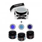 SET Bright Ocean - Gel Builder Blue 10ml + 3buc geluri DRY Color