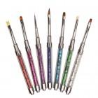 Set de pensule pentru manichiură - 7buc