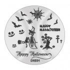 Șablon ștampilare DXE01 - Halloween
