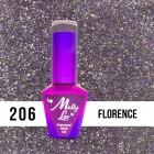 MOLLY LAC UV/LED Sensual - Florence 206, 10ml
