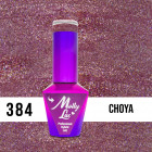 MOLLY LAC UV/LED polish Wedding Dream and Champagne  - Choya 384, 10ml