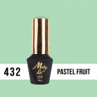 MOLLY LAC UV/LED  Pablo Rozz - Pastel Fruit 432, 10ml