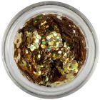 Flori cu găuri - aurii, hologramă