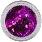 Confetti mov pentru tipsuri acvariu - diamante, hologramă
