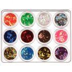 Kit Nail art- diamante 12x5 g