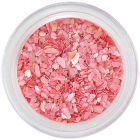 Scoici zdrobite pentru nail art –  roz prăfuit