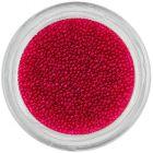 Perle roșu închis pentru unghii, 0,5mm