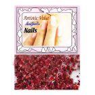 Sclipici roșu pentru unghii