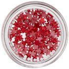 Stele decorative unghii - roșu perlat